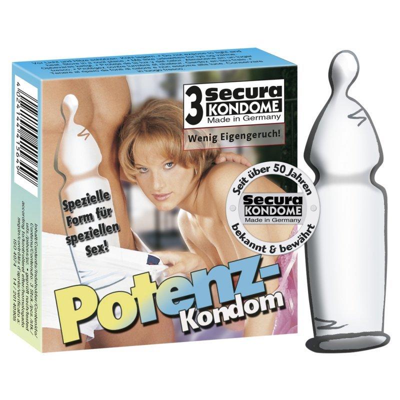 Secura Potency-Kondom 3 Secura