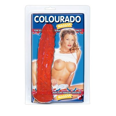 "Dildo ""Colourado massive"" rot"