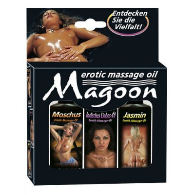 Massage oil set 3 pcs. 50ml