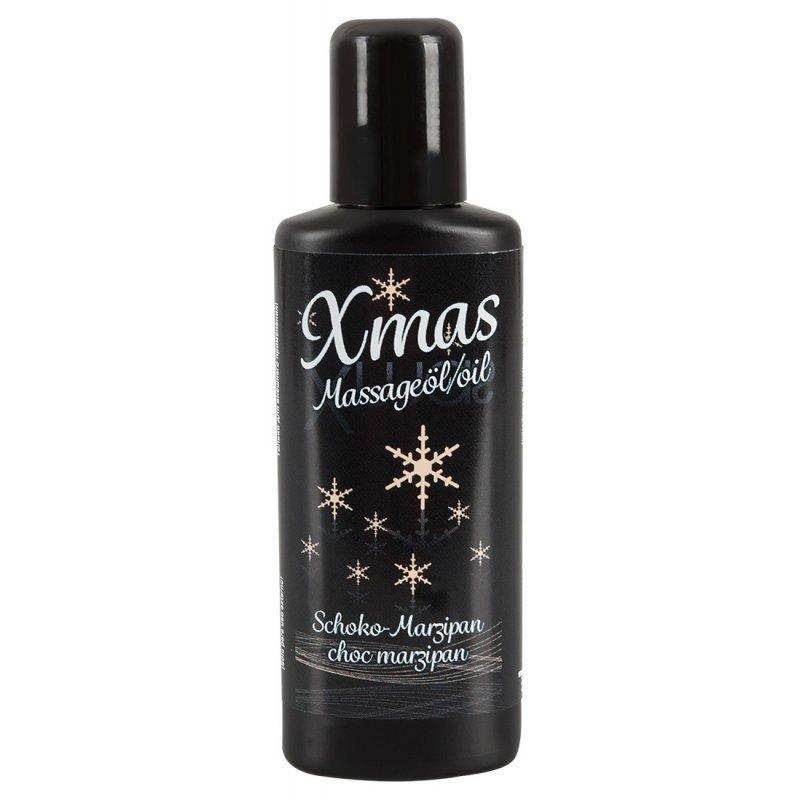Masážní olej vánoční čoko/marzipán 50 ml