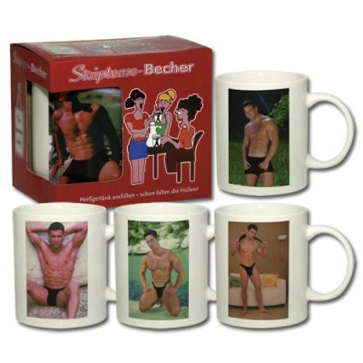 Stripbecher Boy