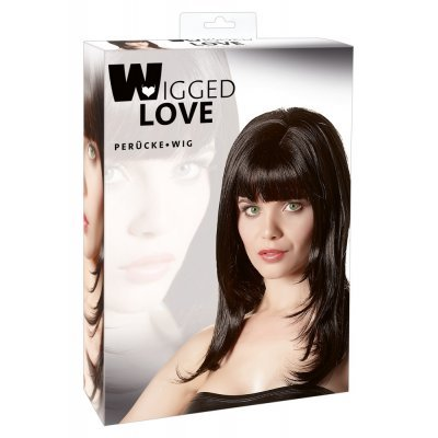 Wig Carmen black, long