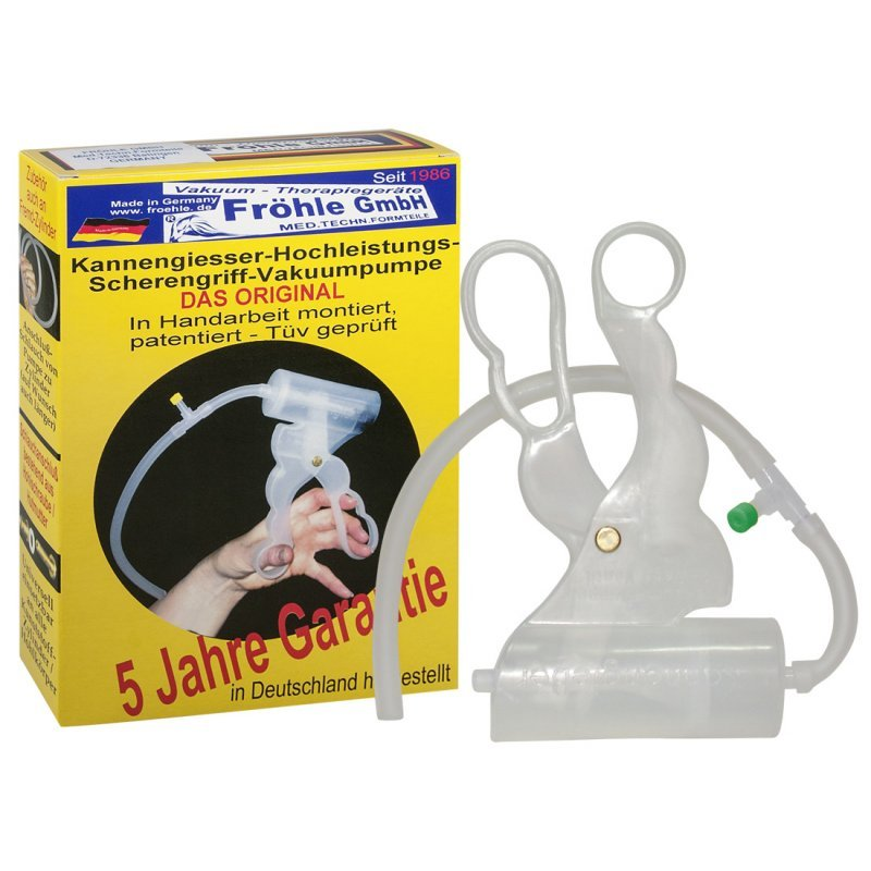Scissors-grip Vacuum Pump Fröhle