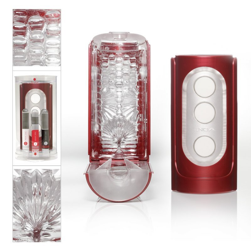 Flip Hole Red TENGA
