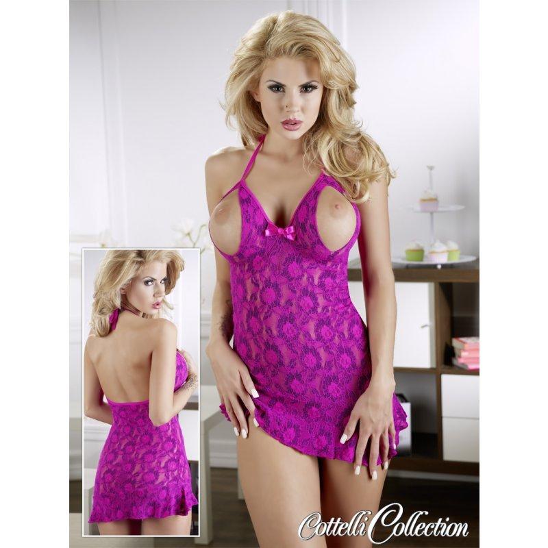 Sexy šaty s otevřeným dekoltem S Cottelli Collection