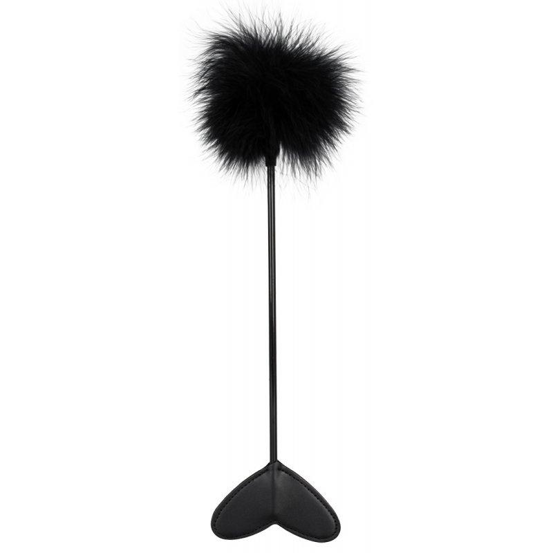 Peříčkové lechtadlo černé Bad Kitty