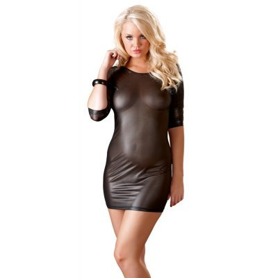 Lesklé minišaty Shiny Mini Dress