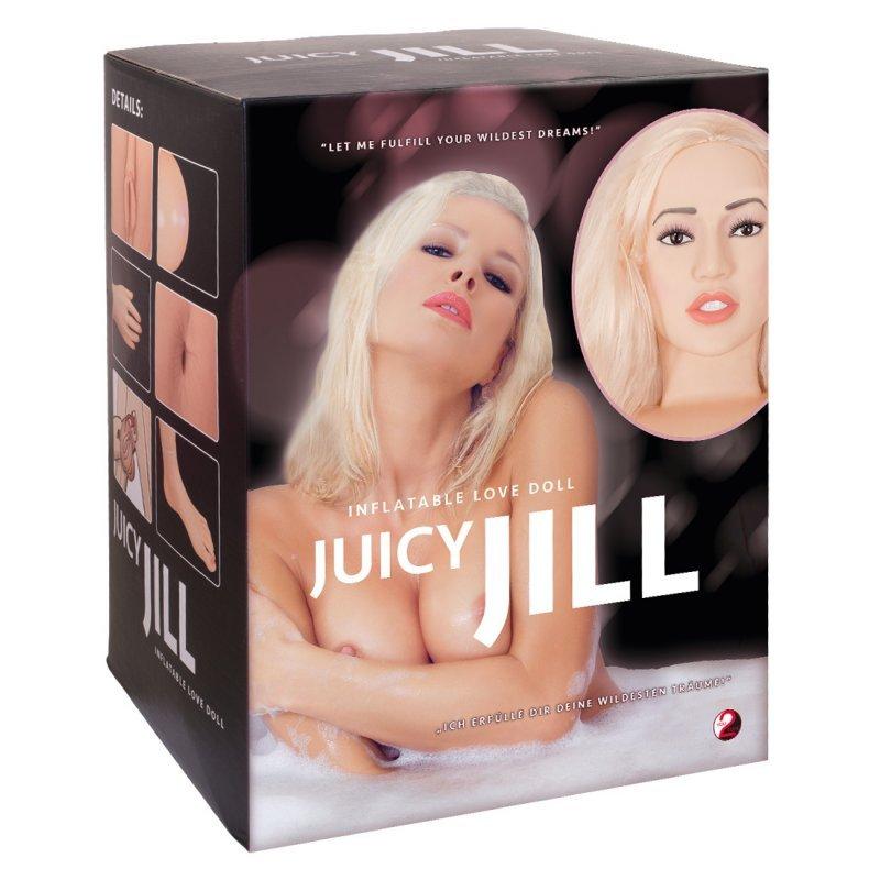 Nafukovací blondýna Doll Juicy Jill You2Toys
