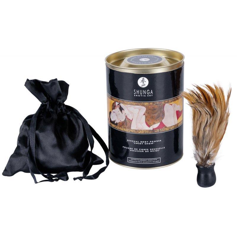 Tělový pudr Body Powder Strawb/Champ Shunga