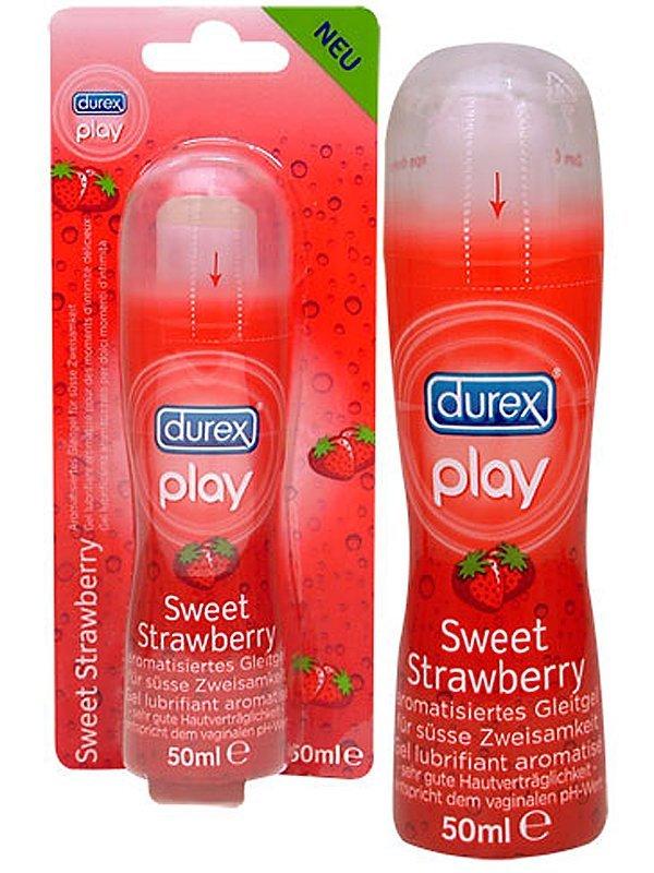 Durex play lubrikační gel 50ml jahoda Durex