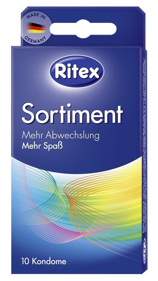 Ritex Sortiment 10ks kondomy Ritex