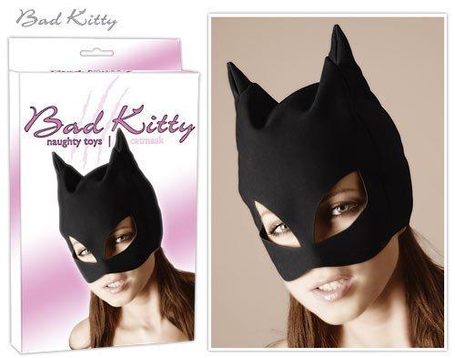 Maska Černá kočka unisize Bad Kitty
