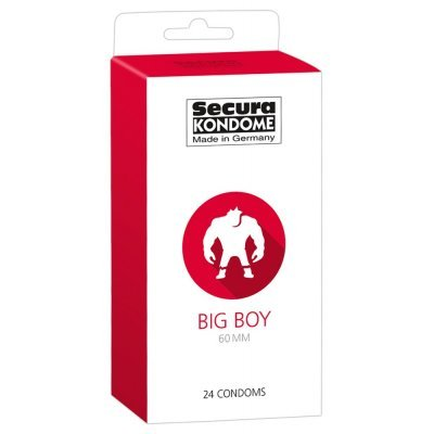 Kondomy Secura Big Boy 60mm x 24ks