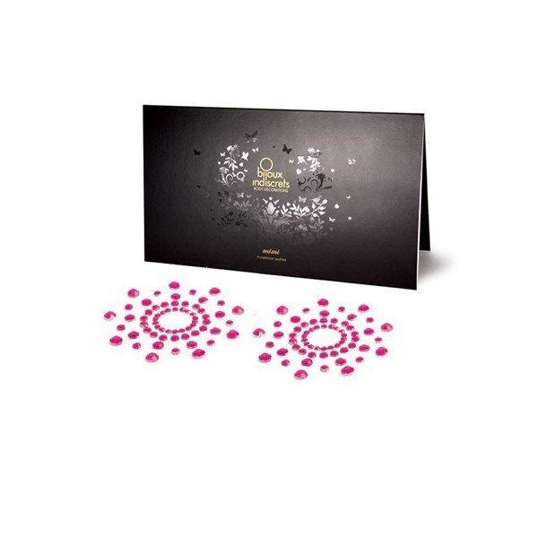 Ozdoby na bradavky růžové Bijoux indiscrets