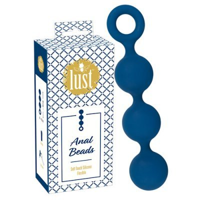 Lust Anal Beads Blue
