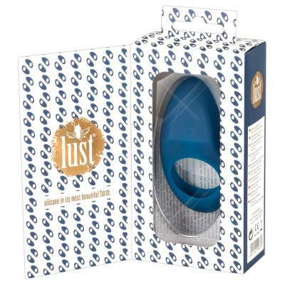 Lust Vibrating Cock Ring Blue