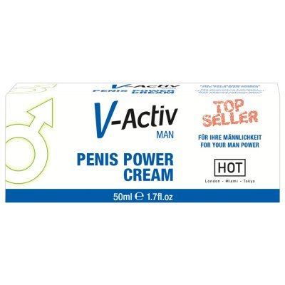 Krém V-Activ Penis Power 50ml