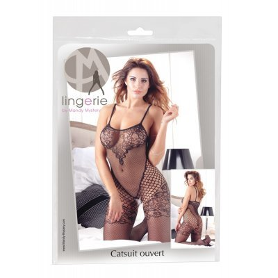 Krajkový bodystocking