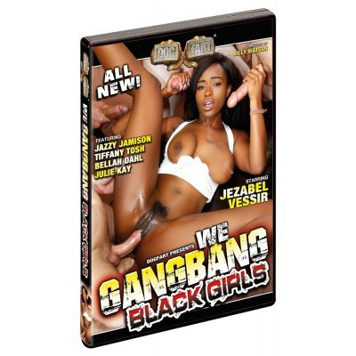 DVD We Gangbang Black Girls