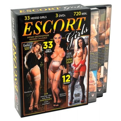Sada 3 DVD Escort Girls