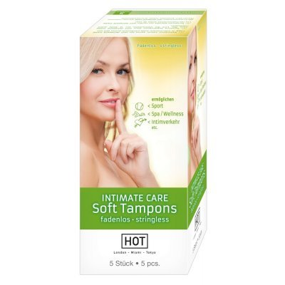 Intimate Care Soft Tampons 5pc