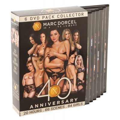 Box 6 DVDs MD 40 Anniversary