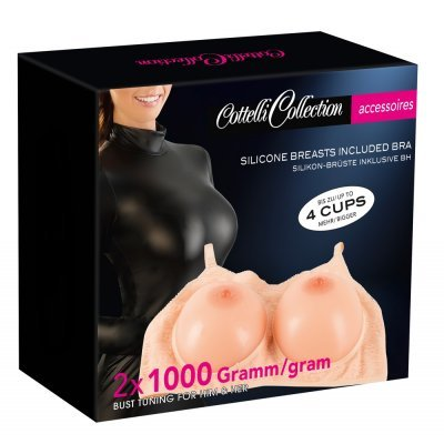 Silicone Breasts with Bra