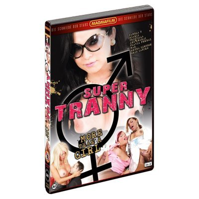 DVD Super Tranny-more than a girl