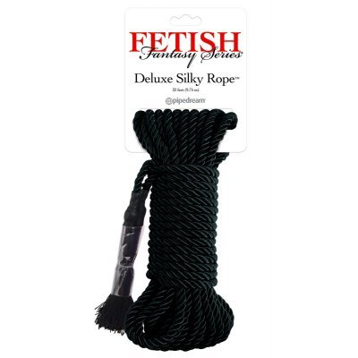 FFS Deluxe Silk Rope Black